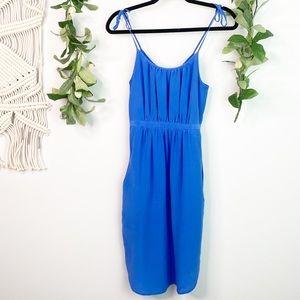 MADEWELL Silk Skyway Cami Dress